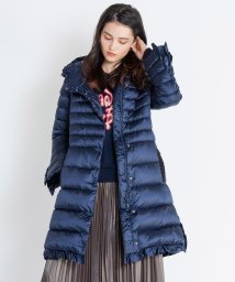 LANVIN en Bleu/フリルダウンコート/501231821
