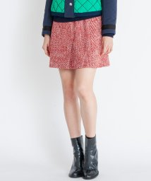 LANVIN en Bleu/アルパカ混ツィードスカート/501231842