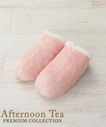 Afternoon Tea LIVING/クリスタル柄ナポレオンルームシューズ/501277228