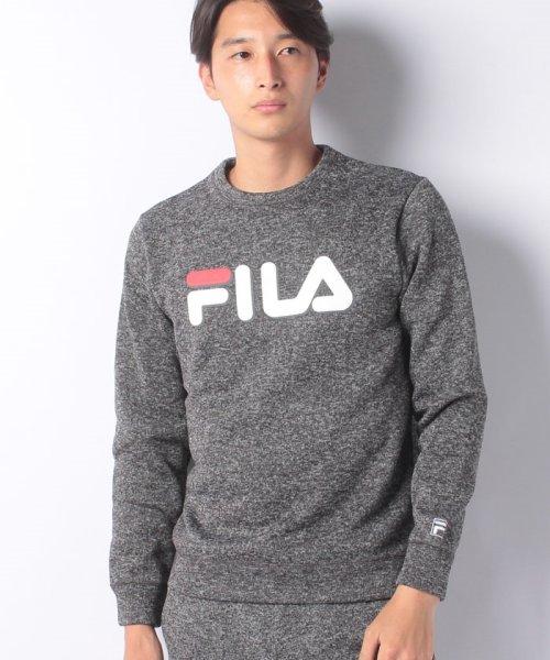 FILA(フィラ)/【セットアップ対応商品】ニットフリース クルーシャツ/448362