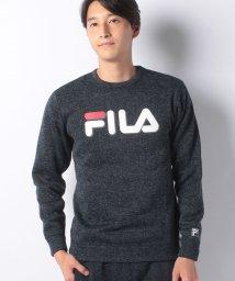 FILA/【セットアップ対応商品】ニットフリース クルーシャツ/501293273