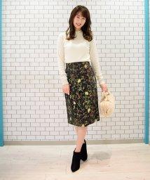 Eimy Peal by POWDER SUGAR/【セットアップ対応商品】ゴブラン織りタイトスカート/501294573