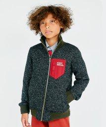 KRIFF MAYER(Kids)/ニットフリースハイネックブルゾン(130~160cm)/501298551