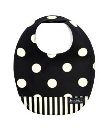 baby COLORFUL CANDY STYLE/スタイ 丸型タイプ polkadotlarge(twill・black)/501299302