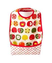 baby COLORFUL CANDY STYLE/お食事エプロン スタイ・ビブタイプ おしゃれリンゴのひみつ(スケアー地・アイボリー)/501299320