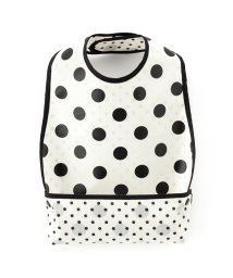 baby COLORFUL CANDY STYLE/お食事エプロン スタイ・ビブタイプ polkadotlarge(broadcloth・white)×白地に黒ドット/501299321