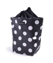 baby COLORFUL CANDY STYLE/消臭おむつポーチ 巾着タイプ polkadotlarge(broadcloth・black)/501299334