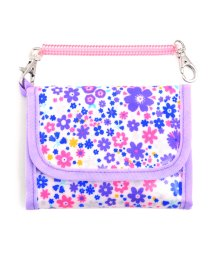 COLORFUL CANDY STYLE/【通園・通学】キッズウォレット(財布) フラワー模様のエアリーシャワー(ラベンダー)/501299450