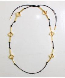 CRUCE anap/ゴールドモチーフ付ロープネックレス/501319376