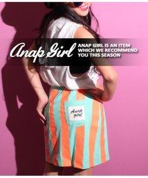ANAP GiRL/ネオンカラーストライプスカート/501319678