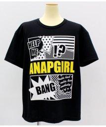 ANAP GiRL/アメコミ風ロゴBIGTシャツ/501319792
