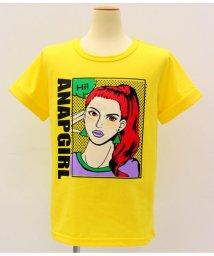 ANAP GiRL/ポニーテールガールプリントTシャツ/501319798