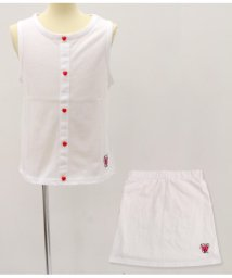 ANAP GiRL/トップス×スカート フェイクボタンSET UP/501319904