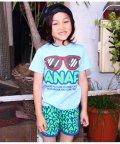 ANAP KIDS/サングラスプリントTシャツ+ロゴショートパンツSET/501320787