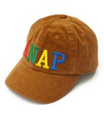 ANAP KIDS/カラフル刺繍ロゴコーデュロイキャップ/501321692
