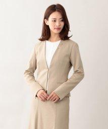 TRANSWORK/【美Jacket】コンパクトドライポンチカラーレスジャケット/501322030