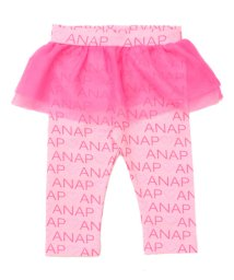ANAP KIDS/ロゴハートプリントチュチュ付レギンス/501322216