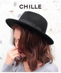 CHILLE/フェルトつば広ハット/501322247