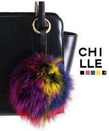 CHILLE/ファーキーホルダー/501322353