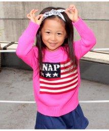 ANAP KIDS/アメリカンフラッグニットTOPS/501322718