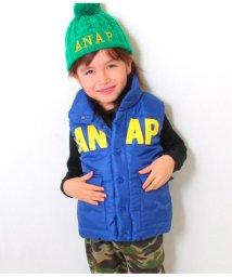 ANAP KIDS/ロゴ中綿ベスト/501322729