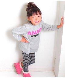 ANAP KIDS/チュニック+ロゴ総柄パンツSET-UP/501322739