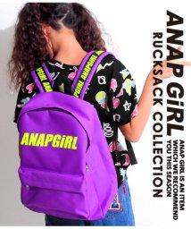 ANAP GiRL/ショルダーテープリュックサック/501323073