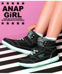 ANAP GiRL/ロゴ入ハイカットスニーカー/501323932