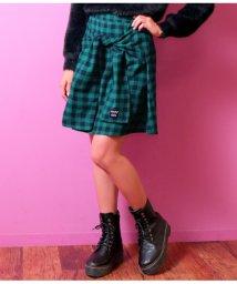 ANAP GiRL/ブロックチェック腰巻スカート/501323946