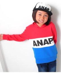 ANAP KIDS/3カラー切り替えフーディ/501324295