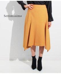 Settimissimo/ウールタッチフロント切替スカート/501325668