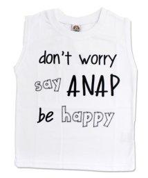 ANAP KIDS/メッセージプリントタンクTOPS/501326511