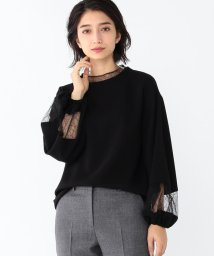 Demi-Luxe BEAMS/Demi-Luxe BEAMS / チュールコンビ ブラウス/501327005