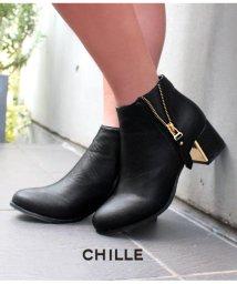 CHILLE/サイドZIPブーティー/501327759