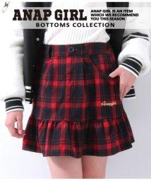 ANAP GiRL/チェックフリルスカート/501329783