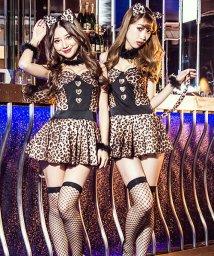 Dita/costume【コスチューム】レオパード柄フレアCAT 5点セット/501329928