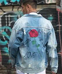 razz/RAZZIS【ラズ】Rose Denim Jacket(デニムジャケット)/501329940