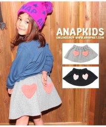 ANAP KIDS/ハートボアポケット付きケーブル編み柄スカート/501333683