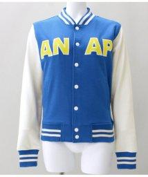ANAP/☆新色追加☆『ANAP』ロゴスウェットスタジャン/501334169
