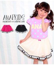 ANAP KIDS/チュール&リボンパンツインスカート/501336420