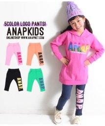 ANAP KIDS/ストレッチロゴカラーパンツ/501336423