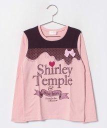 ShirleyTemple/ラメプリントTシャツ(140cm)/501287711
