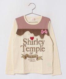 ShirleyTemple/ラメプリントTシャツ(150~160cm)/501287716