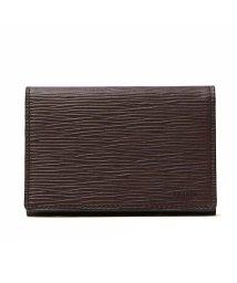 aniary/アニアリ 名刺入れ aniary アニアリ カードケース ウェーブレザー Wave Leather 本革 革 レザー 16-20004/501301638
