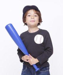 RUGGEDWORKS/野球ミニ裏毛ロングTEE/501305271