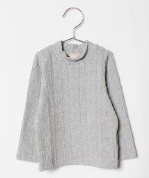 petit main/ジャカードハイネックTシャツ/501310363