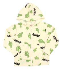 ANAP KIDS/パイルサボテンプリントパーカー(別売りSET-UP)/501336948