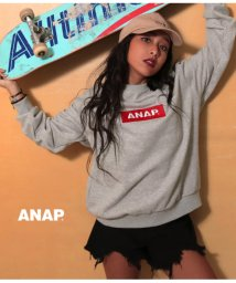 ANAP/ANAPボックスロゴプルオーバー/501338434