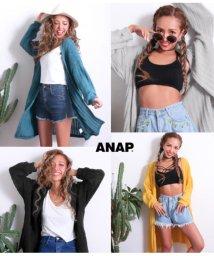 ANAP/ワイドリブロングカーディガン/501339422