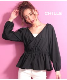 CHILLE/2WAYカシュクールTOP/501339602
